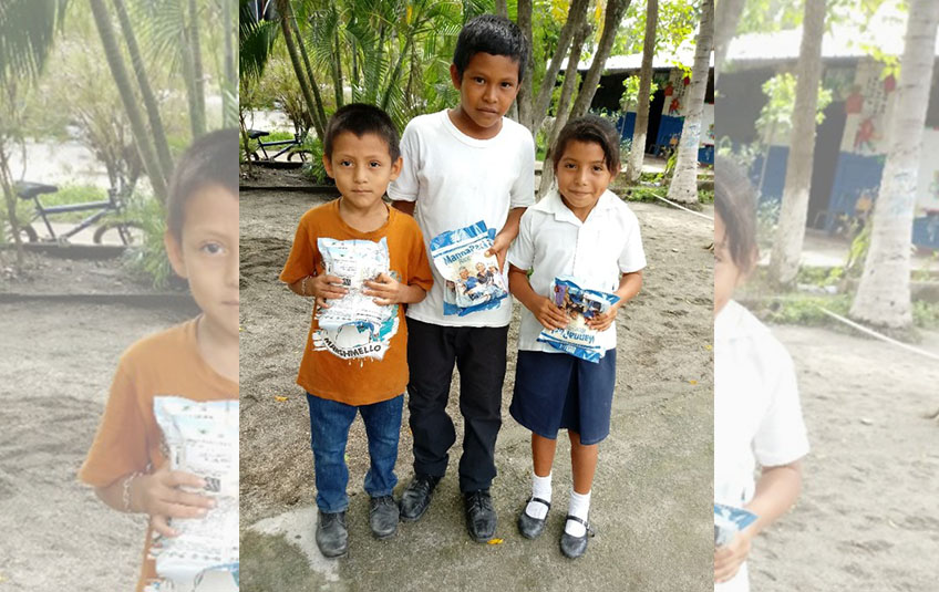 Meals Provide Hope in El Salvador