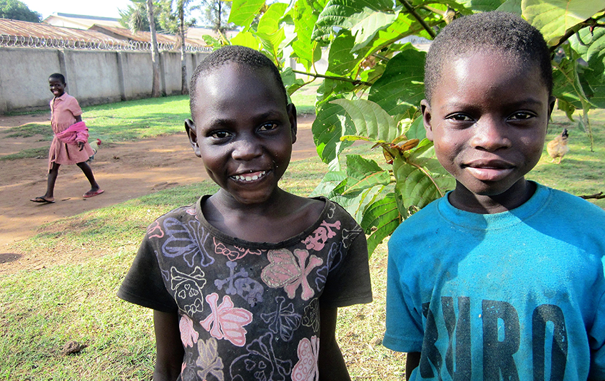 In Uganda: Cousins Thrive