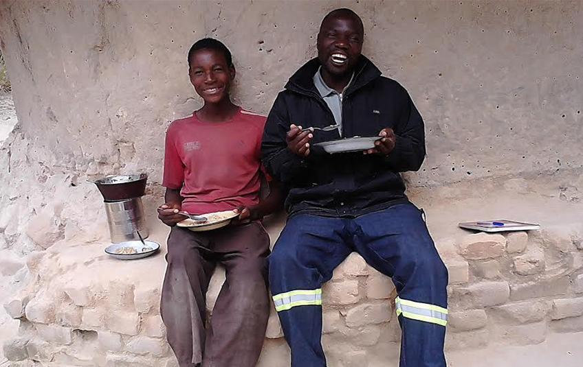 In Zimbabwe: A Boy Named Blessing