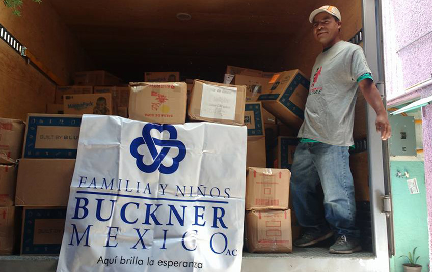 In Mexico: FMSC Meals Delivered after Earthquake