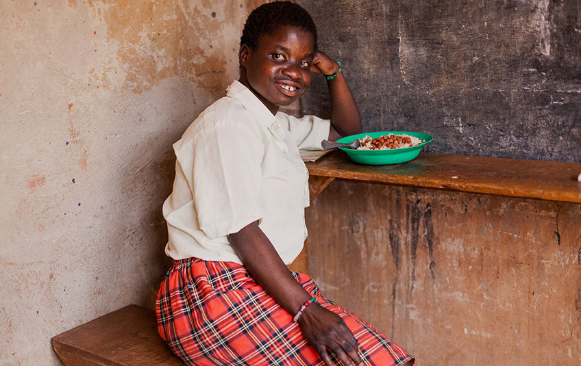 The Power of Food: Educating Girls