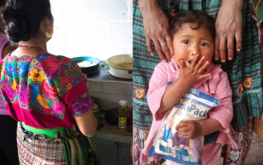In Guatemala, Food Before Treatment