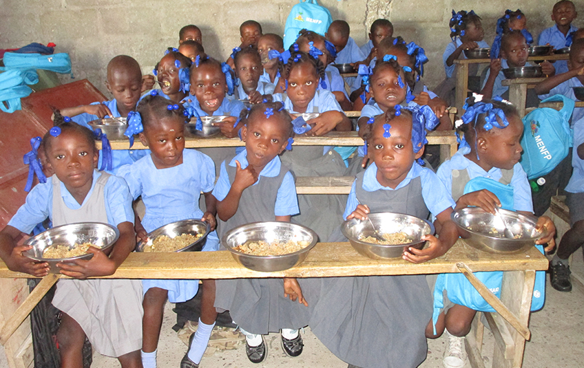 In Haiti: School Meals Change Lives