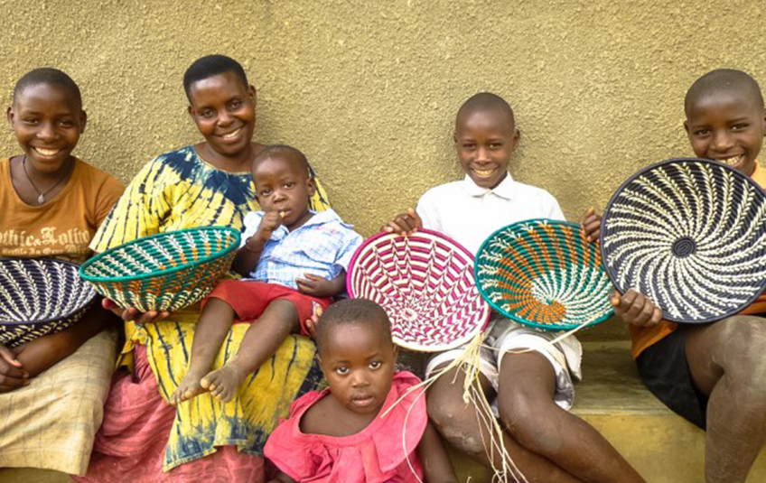 Beautiful Ugandan Baskets