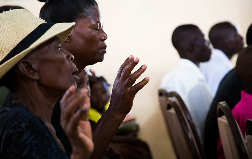 Photos: Sunday in Haiti