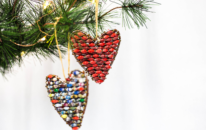 $80 Heart Ornament