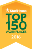 StarTribune Top 150 Workplaces 2016