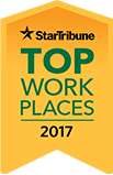 StarTribune Top Workplaces 2017