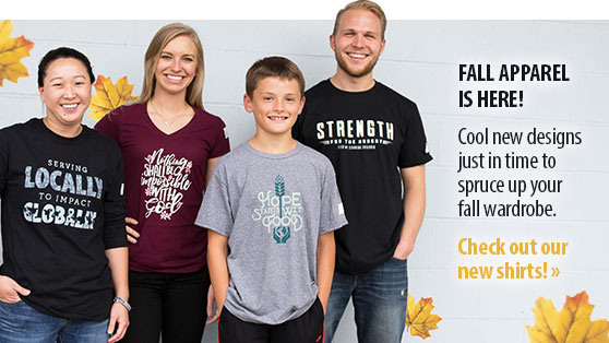 FALL APPAREL IS HERE! Cool new designs just in time to spruce up your fall wardrobe.  Check out our new shirts!