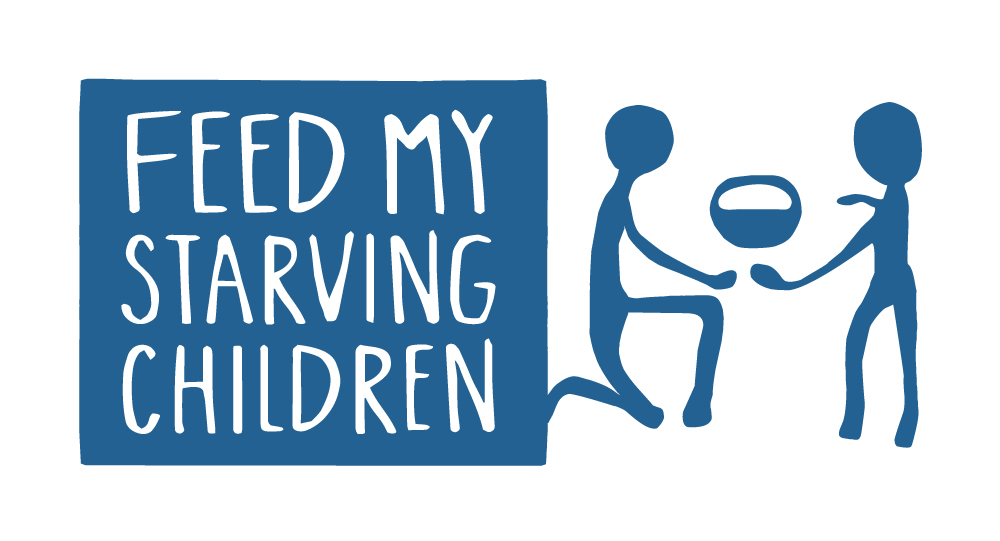 Feed My Starving Children Blue Logo