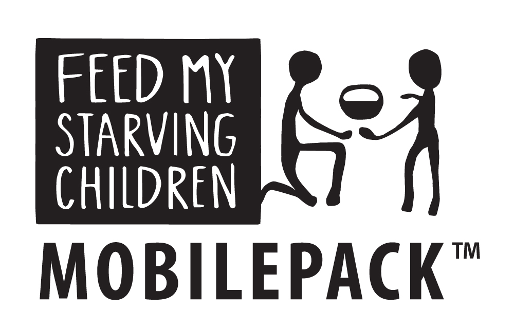 Feed My Starving Children Black MobilePack Logo