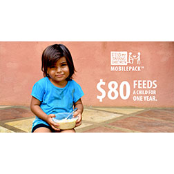 FMSC Facebook post - $80 feeds a child for one year.