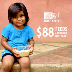 FMSC Instagram post - $80 feeds a child for one year.