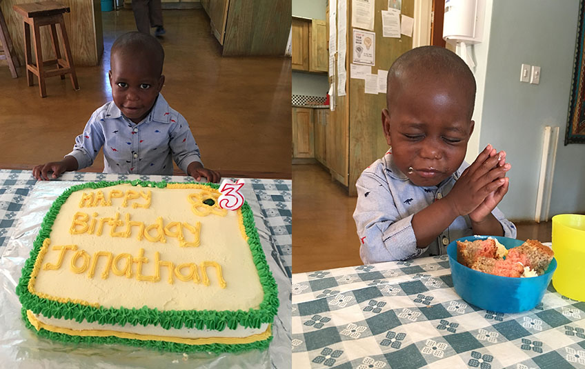 Jonathan Turns 3!