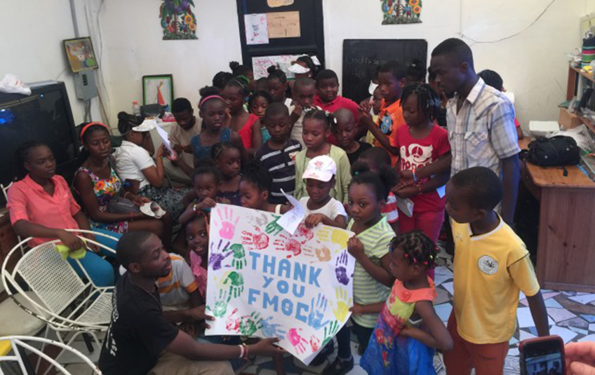 In Haiti: Love in Action