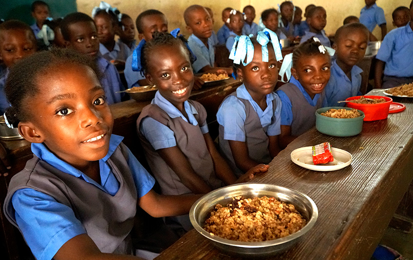 In Haiti: An Ode to School Cooks