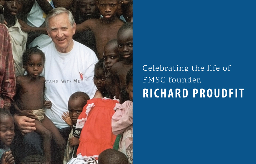 Feed My Starving Children Founder Richard Proudfit Dies at 88